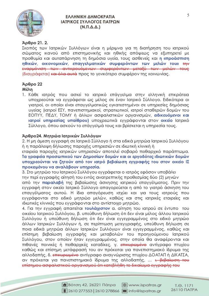 ΠΙΣ - ΙΣ - Ιατρική Νομοθεσία5